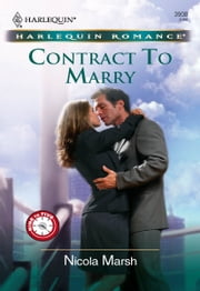 Contract to Marry ebook by Nicola Marsh