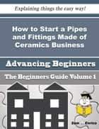 How to Start a Pipes and Fittings Made of Ceramics Business (Beginners Guide) ebook by Wes Shore