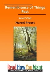 Remembrance Of Things Past Swanns Way ebook by Proust Marcel
