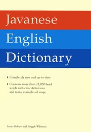 Javanese English Dictionary ebook by Stuart Robson,Singgih Wibisono