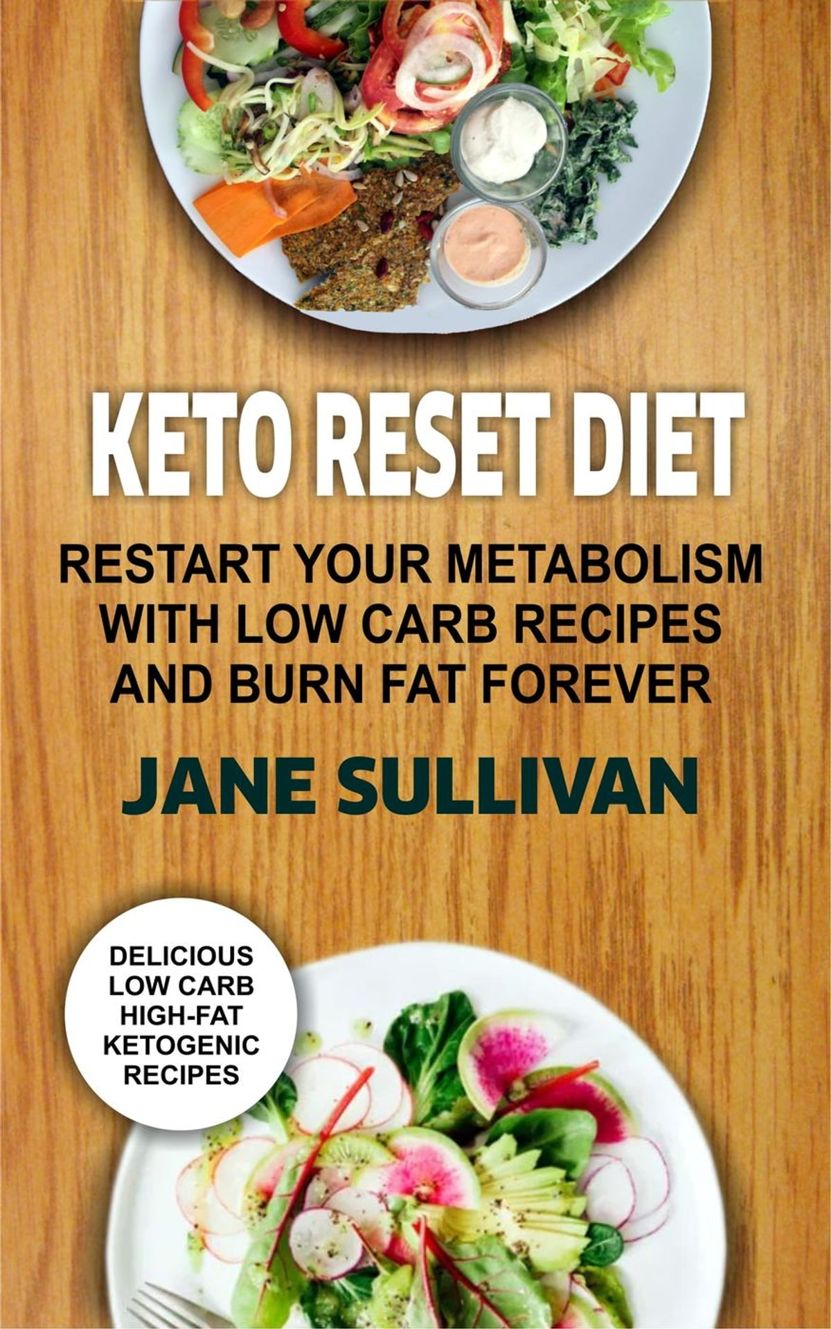 Keto Reset Diet:Restart Your Metabolism With Low Carb Recipes And Burn Fat  Forever eBook by Jane Sullivan - 9781386245117 | Rakuten Kobo