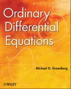 Ordinary Differential Equations ebook by Michael D. Greenberg