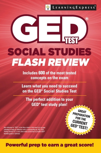 Ged Test Social Studies Flash Review Ebook By Learningexpress Llc