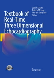 Textbook of Real-Time Three Dimensional Echocardiography ebook by