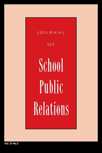 Jspr Vol 27-N2 ebook by Journal of School Public Relations
