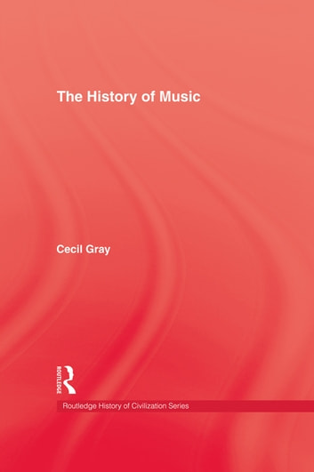 History Of Music ebook by Cecil