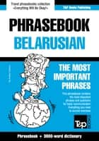 English-Belarusian phrasebook and 3000-word topical vocabulary ebook by Andrey Taranov