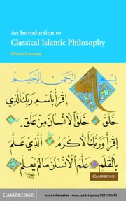 An Introduction to Classical Islamic Philosophy ebook by Leaman, Oliver
