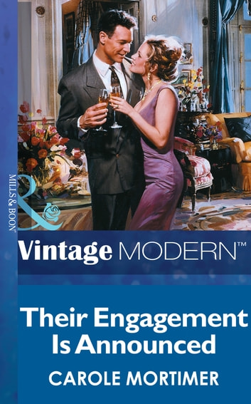 Their Engagement is Announced (Mills & Boon Modern) ebook by Carole Mortimer