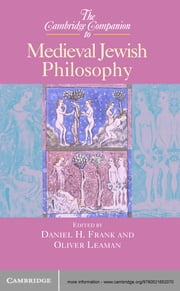 The Cambridge Companion to Medieval Jewish Philosophy ebook by Daniel H. Frank,Oliver Leaman