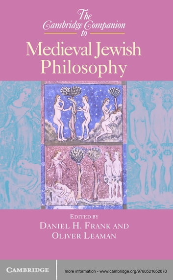 The Cambridge Companion to Medieval Jewish Philosophy ebook by