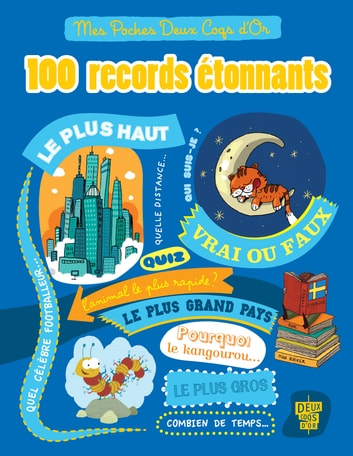 100 records étonnants ebook by Collectif