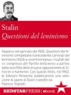 Questioni del leninismo ebook by Iosif Stalin