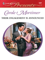 Their Engagement Is Announced ebook by Carole Mortimer
