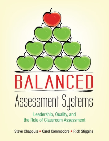 Balanced Assessment Systems - Leadership, Quality, and the Role of Classroom Assessment ebook by Stephen J. Chappuis,Dr. Carol A. Commodore,Richard J. Stiggins