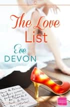 The Love List ebook by Eve Devon