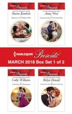 Harlequin Presents March 2018 - Box Set 1 of 2 - Bound to the Sicilian's Bed\A Deal for Her Innocence\Contracted for the Petrakis Heir\Claimed by Her Billionaire Protector ebook by Sharon Kendrick, Cathy Williams, Annie West,...