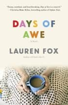 Days of Awe - A novel ebook by Lauren Fox