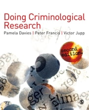 Doing Criminological Research ebook by Mr Peter Francis,Victor Jupp,Pamela Davies