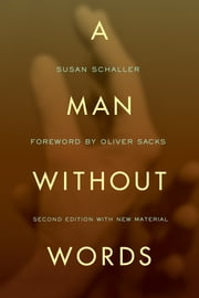 A Man Without Words ebook by Susan Schaller