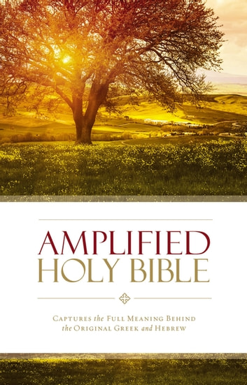 Amplified Holy Bible, eBook - Captures the Full Meaning Behind the Original Greek and Hebrew ebook by Zondervan