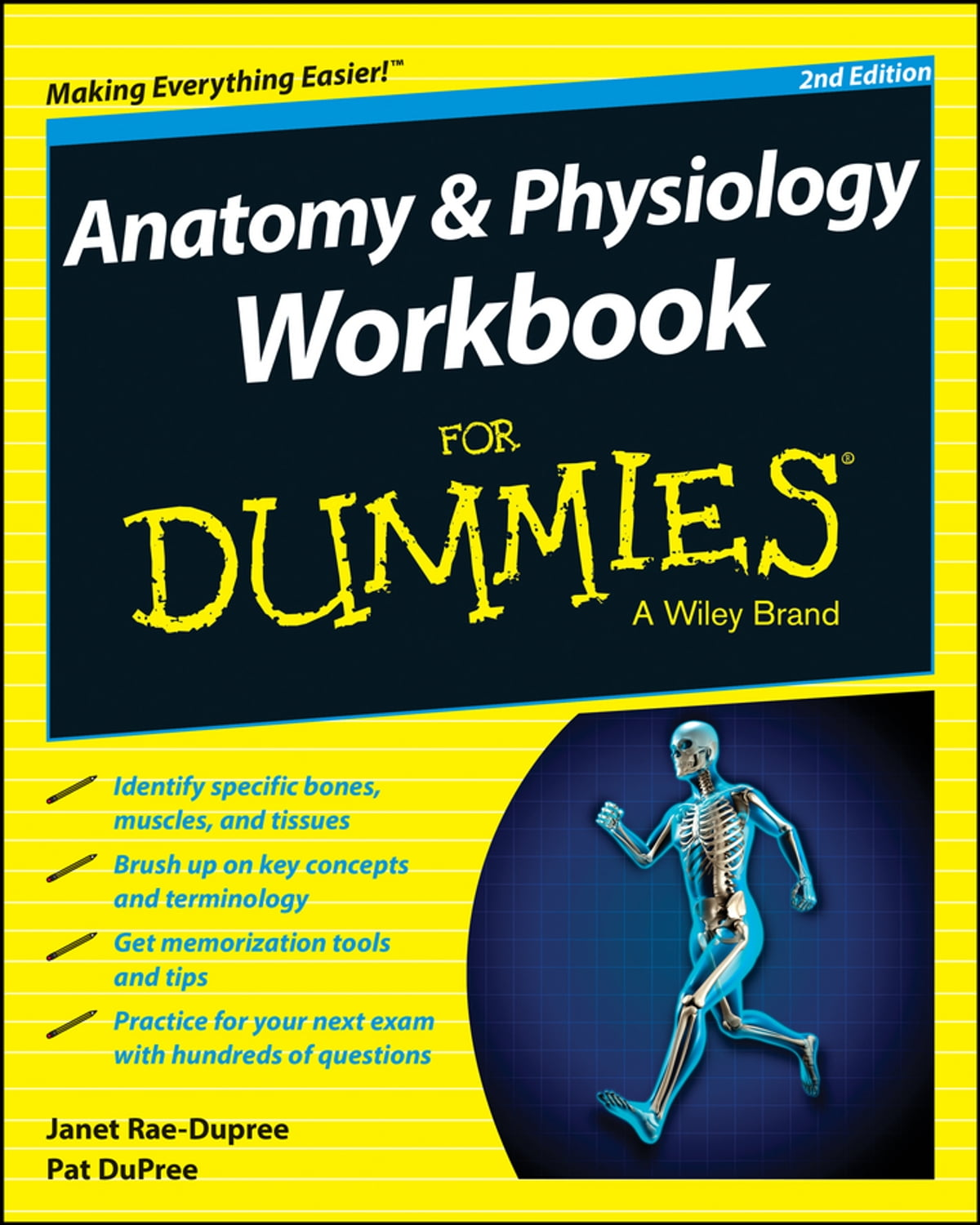 Anatomy and Physiology Workbook For Dummies eBook by Janet Rae ...