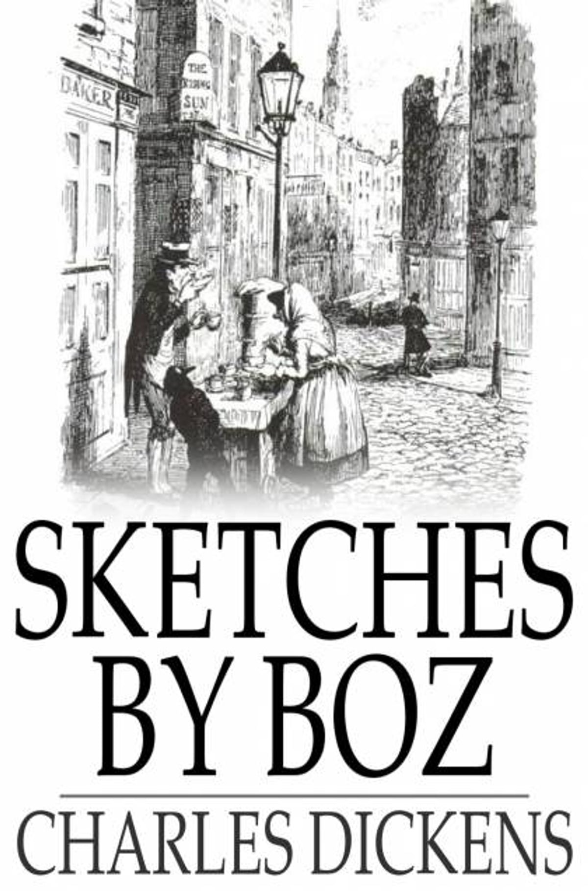 charles dickens sketches