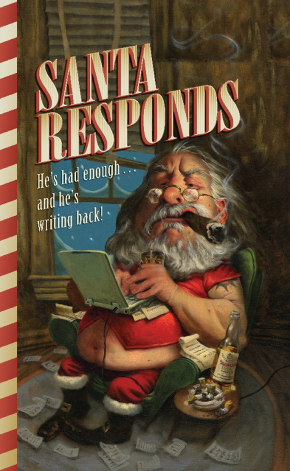 santa responds ebooksanta claus - 9780786741052 | rakuten kobo