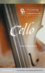 The Cambridge Companion to the Cello ebook by Robin Stowell