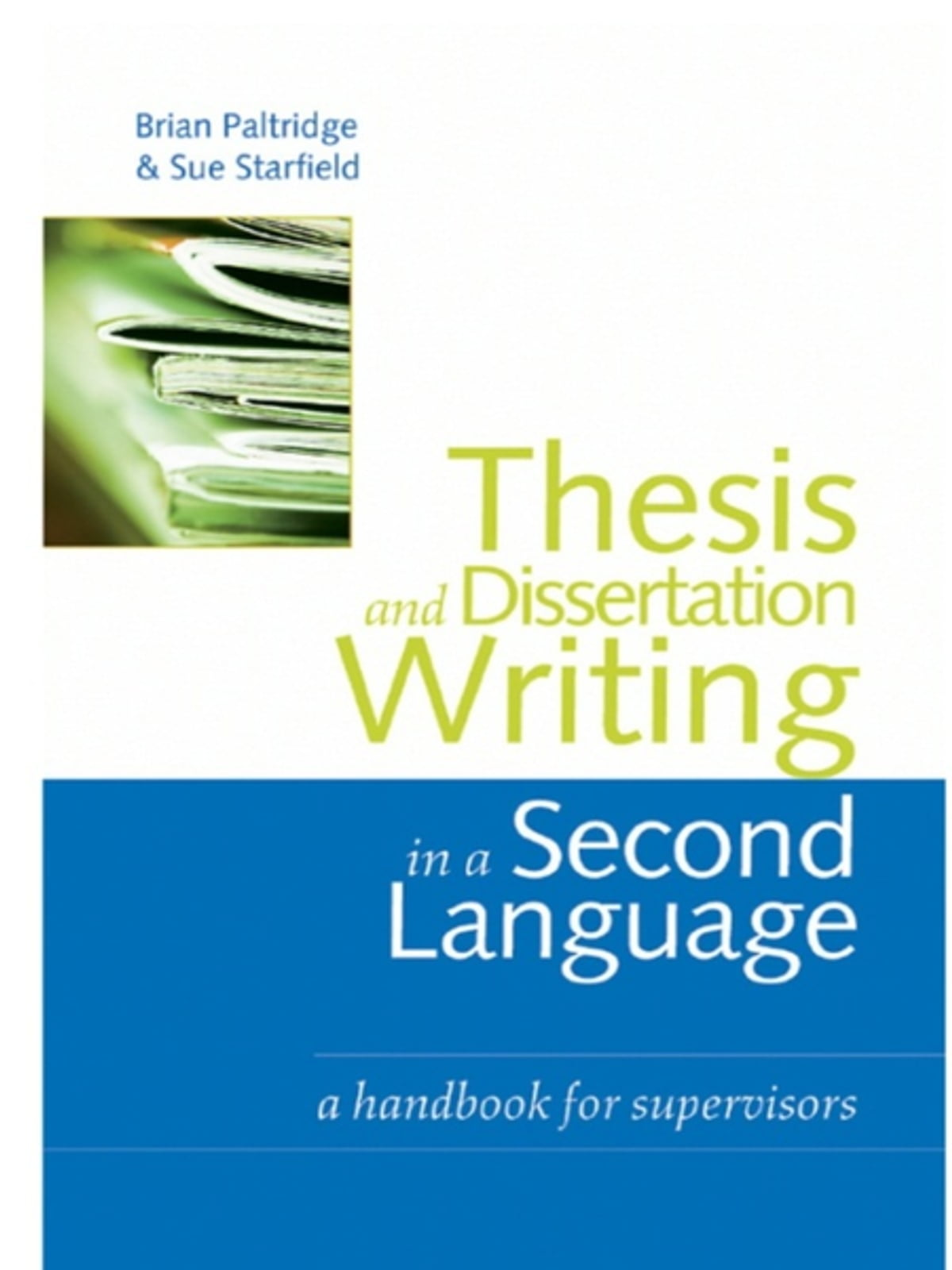 writing your thesis paul oliver free download