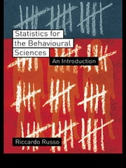 Statistics for the Behavioural Sciences - An Introduction ebook by Riccardo Russo