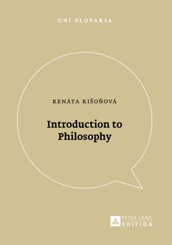Introduction to Philosophy ebook by Renáta Kisonová