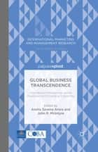 Global Business Transcendence ebook by A. Arora,J. McIntyre