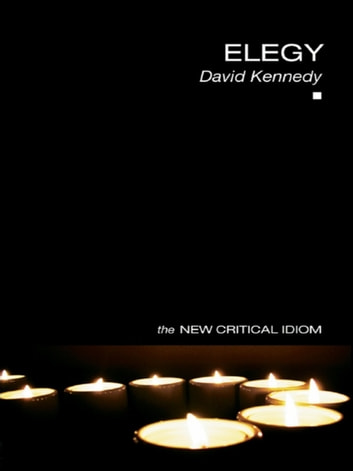 Elegy ebook by David Kennedy