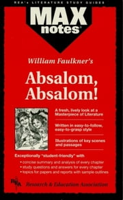 Absalom, Absalom! (MAXNotes Literature Guides) ebook by Carol Johnson