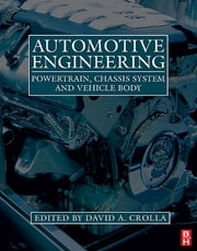 Automotive Engineering e-Mega Reference ebook by David Crolla