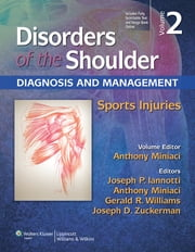 Disorders of the Shoulder: Sports Injuries ebook by Anthony Miniaci