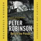 Before the Poison audiobook by Peter Robinson