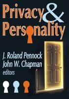 Privacy and Personality ebook by Russell L. Ciochon