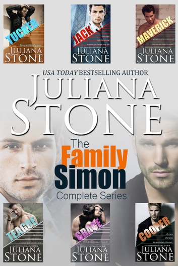 The Family Simon Complete Boxed Set (Books 1-6) ebook by Juliana Stone