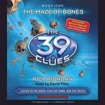 The 39 Clues Book 1: The Maze of Bones audiobook by Rick Riordan