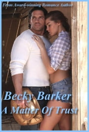 A Matter of Trust ebook by Becky Barker