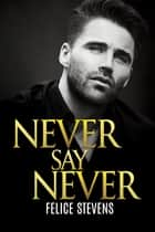 Never Say Never ebook by Felice Stevens
