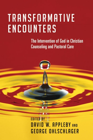 Transformative Encounters - The Intervention of God in Christian Counseling and Pastoral Care ebook by