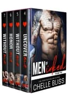 Men of Inked Books 4-7 ebook by Chelle Bliss