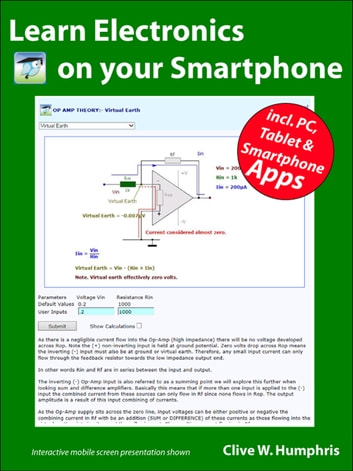 Learn Electronics on your Smartphone ebook by Clive W. Humphris