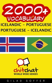 2000+ Vocabulary Icelandic - Portuguese ebook by Gilad Soffer