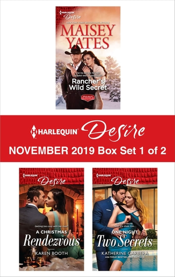 Harlequin Desire November 2019 - Box Set 1 of 2 eBook by Maisey Yates,Karen Booth,Katherine Garbera