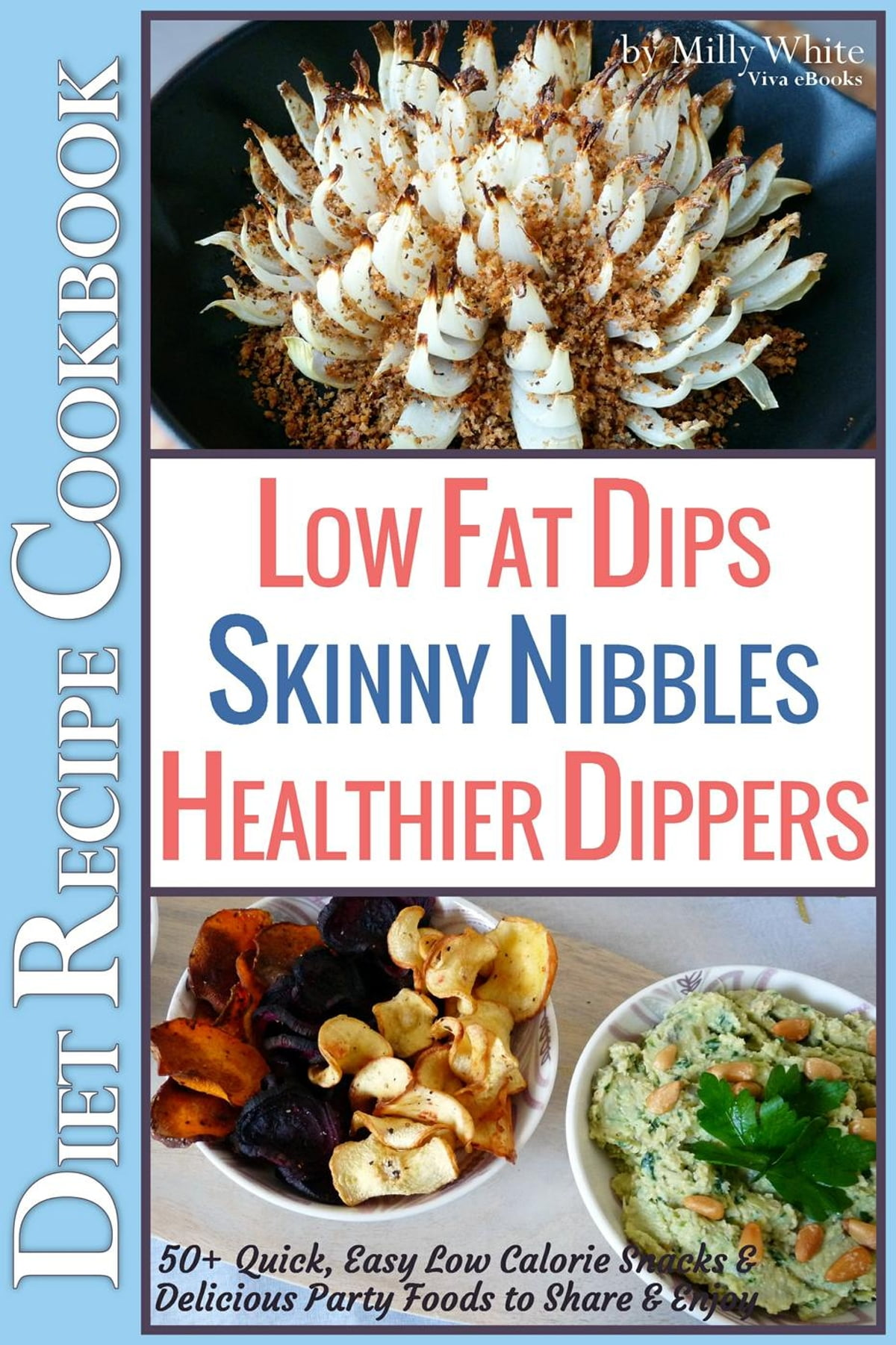 Low Fat Dips Skinny Nibbles Healthier Dippers 50 Diet Recipe Cookbook Quick Easy Low Calorie Snacks Delicious Party Foods To Share Enjoy Ebook By Milly White Rakuten Kobo