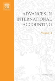 Advances in International Accounting ebook by J. Timothy Sale